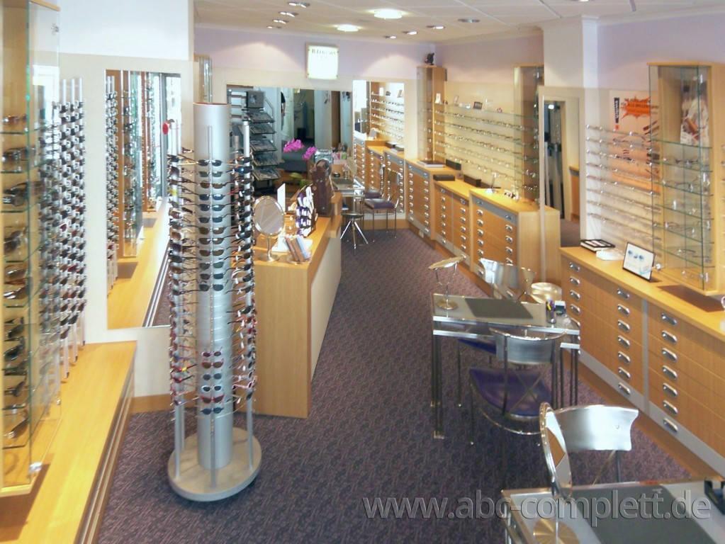 Ansicht des Geschäfts: Augenoptik Schauss, Inhaber W. Dehmel, Potsdam, Foto 2