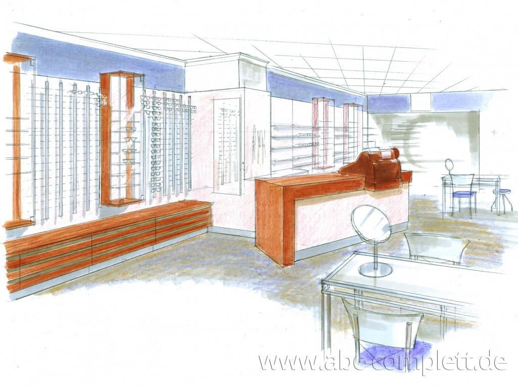 Ansicht des Geschäfts: Augenoptik Schauss, Inhaber W. Dehmel, Potsdam, Foto 5