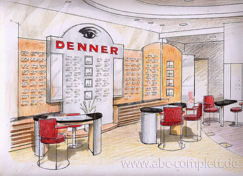Ansicht des Geschäfts: Optiker Denner, Berlin / Zehlendorf, Foto 2
