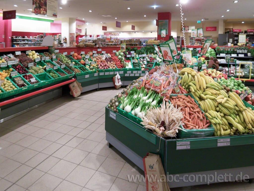 Ansicht des Geschäfts: ViV BioFrischeMarkt, lt. Referenzen Bio Supermarkt, Berlin / diverse, Foto 6