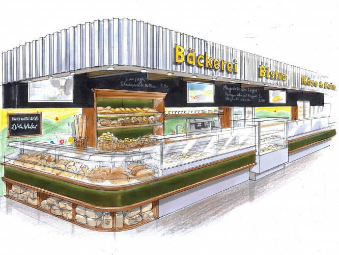 Ansicht des Geschäfts: LPG Biomarkt, Backshop / Bistro, Berlin / diverse