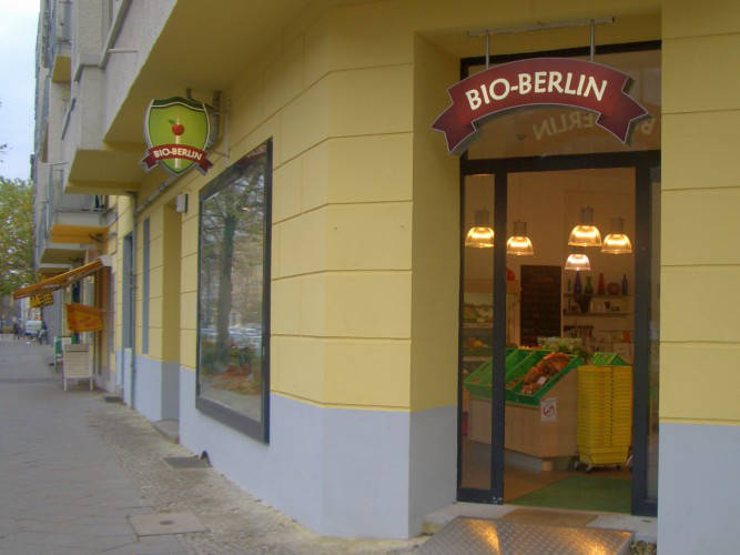 Ansicht des Geschäfts: Bio Berlin, Berlin / Prenzlauer Berg