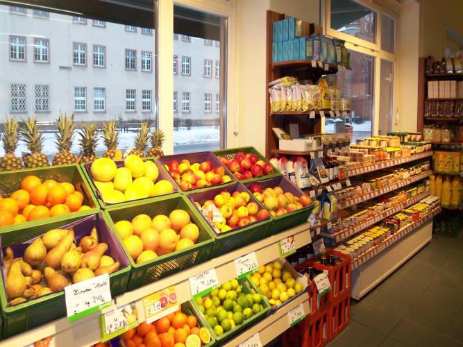 Ansicht des Geschäfts: BioPool, 2009, Neubrandenburg