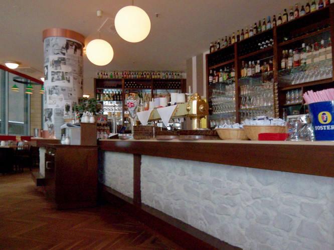 Ansicht des Geschäfts: Mommseneck Haus der hundert Biere, Potsdamer Platz Arcaden, Berlin / Tiergarten