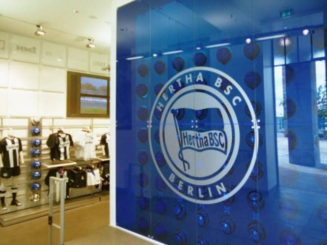 Ansicht des Geschäfts: Hertha BSC Fanshop Olympiastadion, Design by Nike, Berlin / Charlottenburg