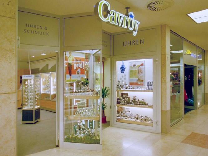 Ansicht des Geschäfts: Juwelier Cavroy, Schönhauser Allee Arcaden, Berlin / Prenzlauer Berg