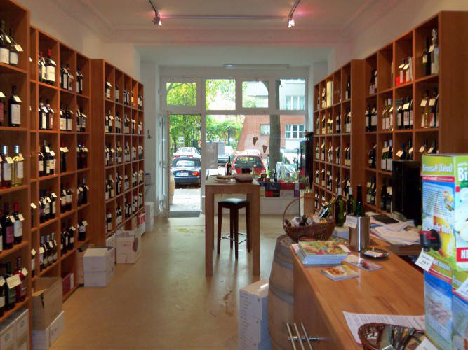 Ansicht des Geschäfts: ViF Weinhandlung, Berlin / Schöneberg