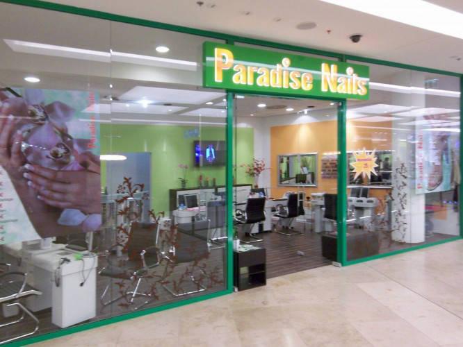Ansicht des Geschäfts: Paradise Nails, Shopfassade, Berlin / Wilmersdorf
