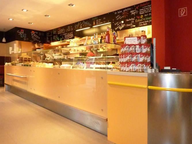Ansicht des Geschäfts: Veganz wir lieben leben, veganer Supermarkt, Berlin / Prenzlauer Berg