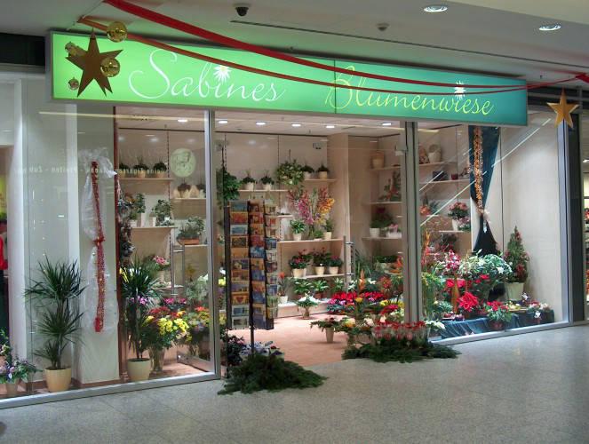 Ansicht des Geschäfts: Sabines Blumenwiese, Rathaus Center, Berlin / Pankow