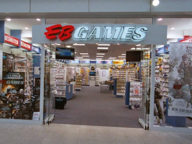 Ansicht des Geschäfts: GamesStop / EB Games, Design by Retail Partner, deutschlandweit 40 Filialen lt. Referenzliste
