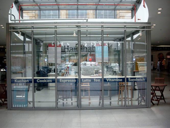 Ansicht des Geschäfts: Coffee Culture, Hauptbahnhof, Halle