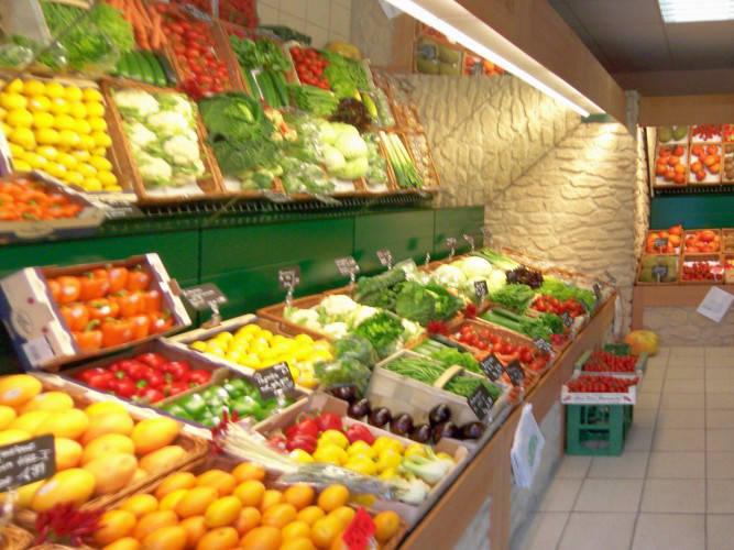 Ansicht des Geschäfts: Kiez Möhre, Obst & Gemüse, Berlin / Lichtenberg