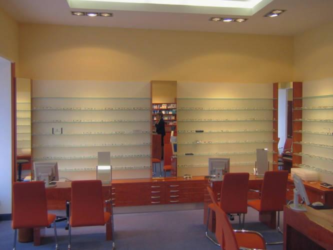 Ansicht des Geschäfts: Optik Dreyer, Berlin / Tegel