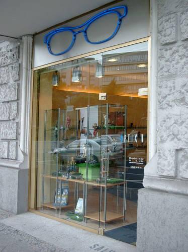 Ansicht des Geschäfts: Optiker Kogan, Berlin / Schöneberg