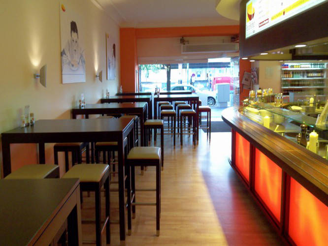 Ansicht des Geschäfts: Pasta Perfect, System Gastronomie, Berlin / Wilmersdorf