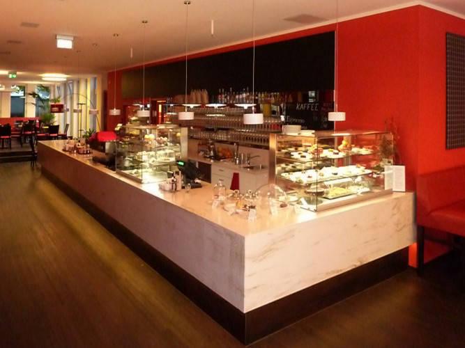 Ansicht des Geschäfts: Kaffeehaus Mila, Berlin / Charlottenburg