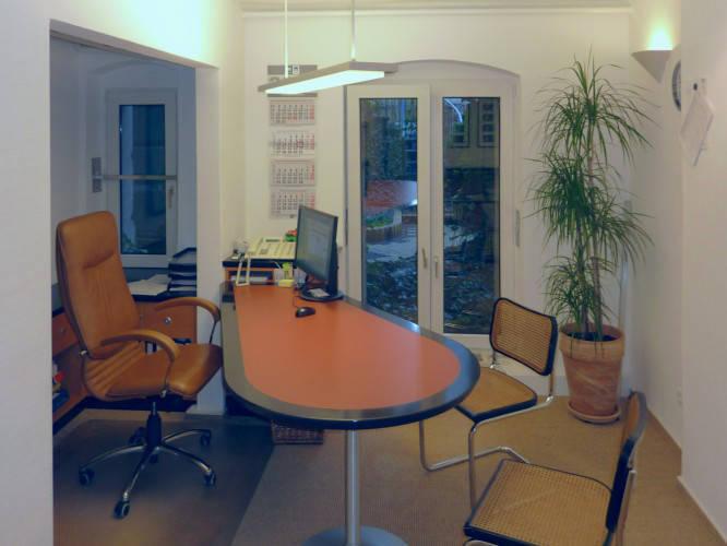 Ansicht des Geschäfts: Musterbüro
