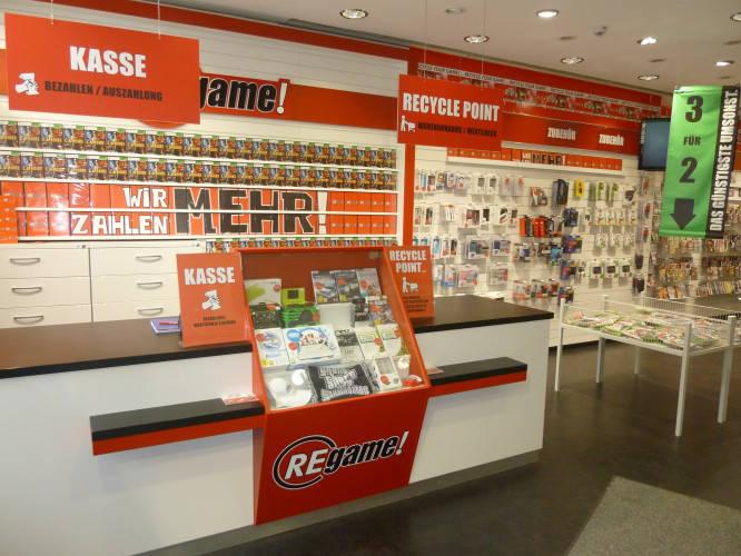 Ansicht des Geschäfts: ReGame, Leipzig