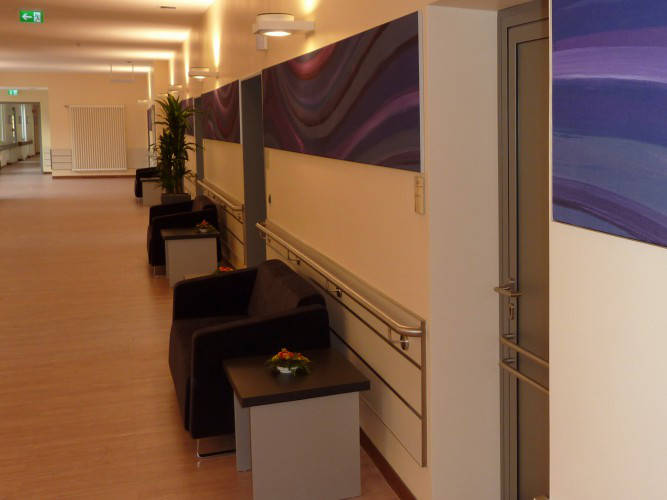 Ansicht des Geschäfts: Jüdisches Krankenhaus Berlin    JKB, Station 8, Berlin / Wedding