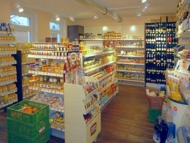 Ansicht des Geschäfts: Bio Konsum, Neuruppin