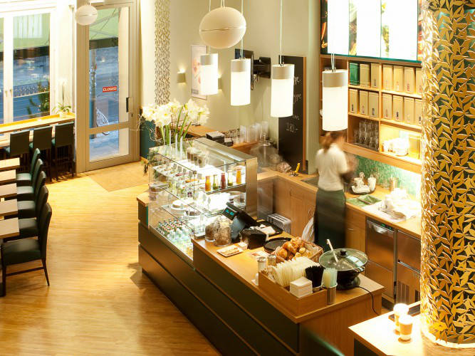 Ansicht des Geschäfts: Chaja Tea, Tea & Tea to go, Berlin / Mitte