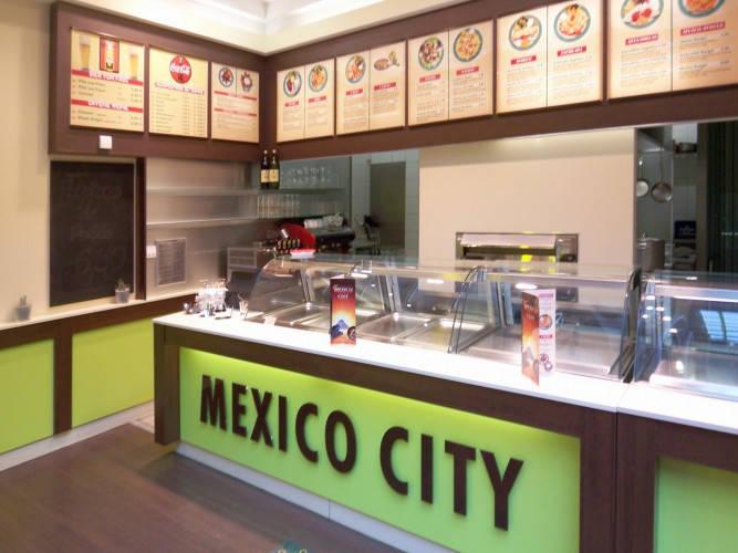 Ansicht des Geschäfts: Mexico City, Das Schloss, Berlin / Steglitz