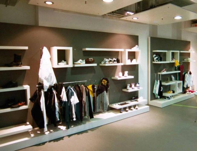 Ansicht des Geschäfts: Nike Showroom bei Universal Music, Design by Nike, Berlin / Friedrichshain