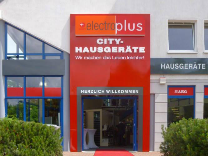 Ansicht des Geschäfts: elektroplus, Hausgeräte, Hohen Neuendorf
