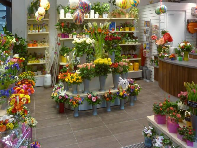 Ansicht des Geschäfts: Blumen Röwer, Hauptbahnhof, Berlin / Mitte