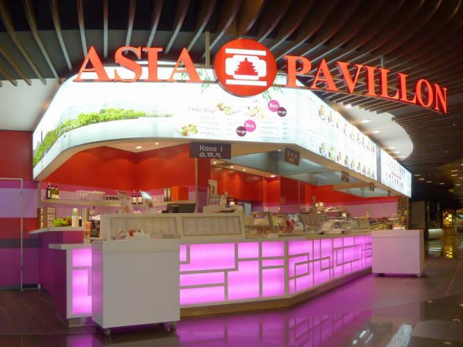 Ansicht des Geschäfts: Asia Pavillon, Mall Of Berlin / Leipziger Platz 12, Berlin / Mitte