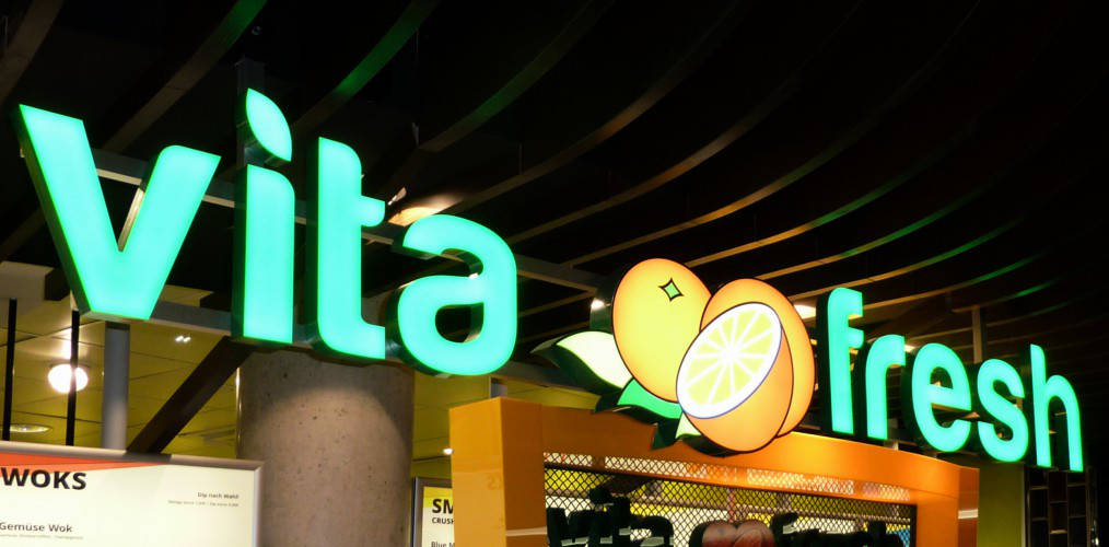 Ansicht des Geschäfts: Vita Fresh, Mall Of Berlin / Leipziger Platz 12, Berlin / Mitte