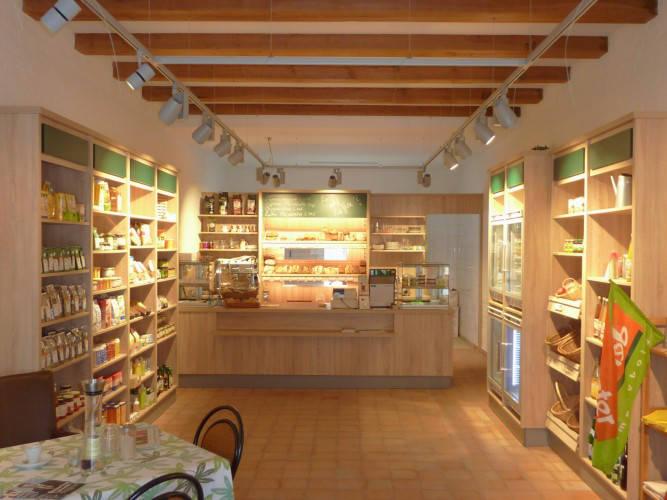 Ansicht des Geschäfts: Bäckerei Vollkern, Hofladen / Hofcafe, Brandenburg / Rohrlack
