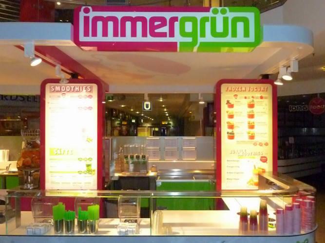 Ansicht des Geschäfts: Immergrün, Filialen lt. Referenzliste, deutschlandweit