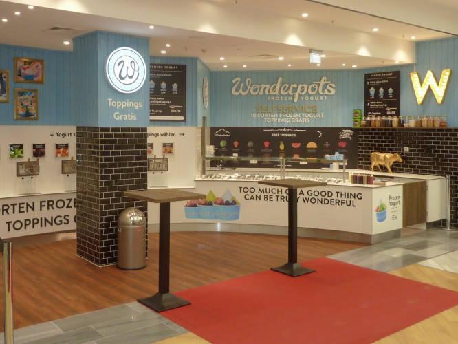 Ansicht des Geschäfts: Wonderpots, Gropius Passagen, Berlin / Neukölln