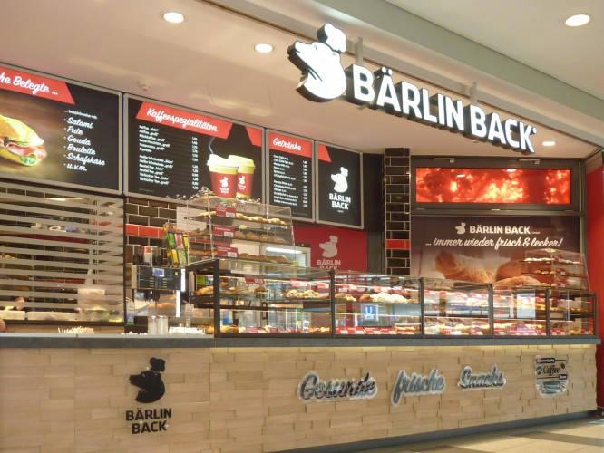 Ansicht des Geschäfts: Bärlin Back, Gropius Passagen - Design by conceptsmedia.de, Berlin / Neukölln