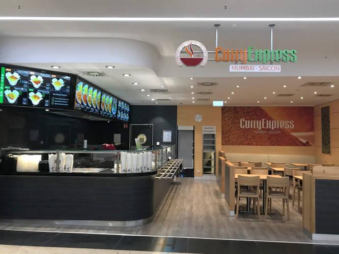 Ansicht des Geschäfts: Curry Express, Flensburg Galerie, Flensburg