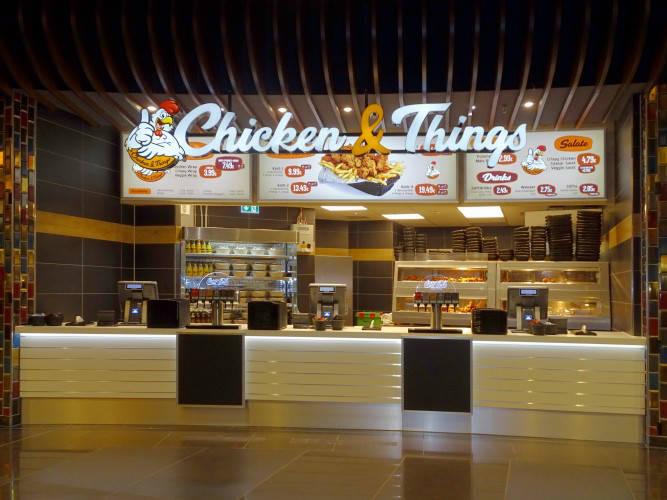 Ansicht des Geschäfts: Chicken & Things, Mall Of Berlin / Leipziger Platz 12, Berlin / Mitte
