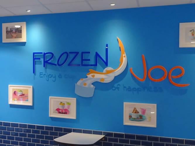 Ansicht des Geschäfts: Frozen Joe, Frozen Yogurt in Selbstbedienung, Berlin / Ring Center II