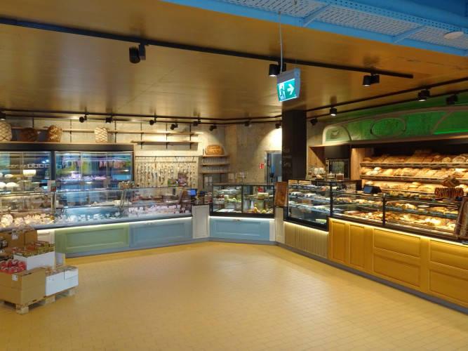 Ansicht des Geschäfts: LPG Biomarkt   lecker preiswert gesund, Filialen lt. Referenzliste Biosupermärkte, Berlin / Kreuzberg