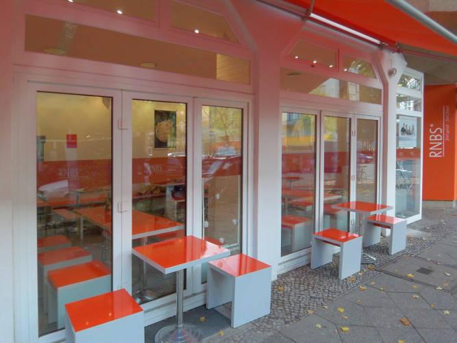 Ansicht des Geschäfts: RNBS, Organic Coffee, Berlin / Schöneberg