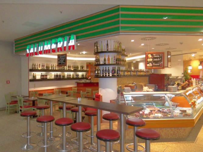 Ansicht des Geschäfts: Pizza Pasta Salumeria, Potsdamer Platz Arcaden, Berlin / Tiergarten