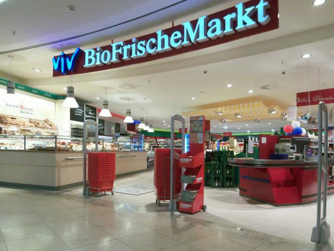 Ansicht des Geschäfts: ViV BioFrischeMarkt, Schönhauser Allee Arcaden, Berlin / Prenzlauer Berg