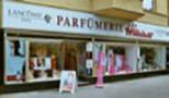 Ansicht des Geschäfts: Parfümerie Himmer, Berlin / Friedenau