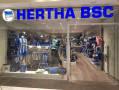 Ansicht des Geschäfts: Hertha BSC Fanshop, Gropiuspassagen 2017, Berlin / Neukölln